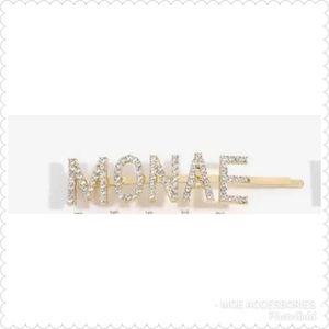 """RHINESTONE HAIRCLIP """"MONAE"""""""